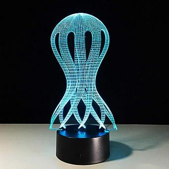 Kind Baby Visuelle Kreative Schlafen Tischlampe Nachtlicht 3d Led UpGVLqzSM