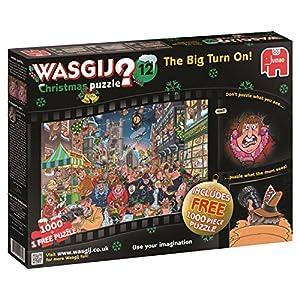Wasgij Christmas 12 The Big Accendere Puzzle Pezzi