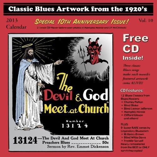 Classic Blues Artwork 1920s Calendar 2013 (Classic Blues Artwork From The 1920s Calendar)