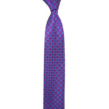 Robert Talbott Best Of Class corbata de seda a cuadros magenta y ...