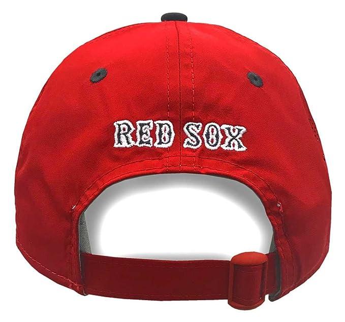 669589053eb Amazon.com  New Era MLB Boston Red Sox Batting Practice Baseball Hat  9Twenty Cap  Clothing