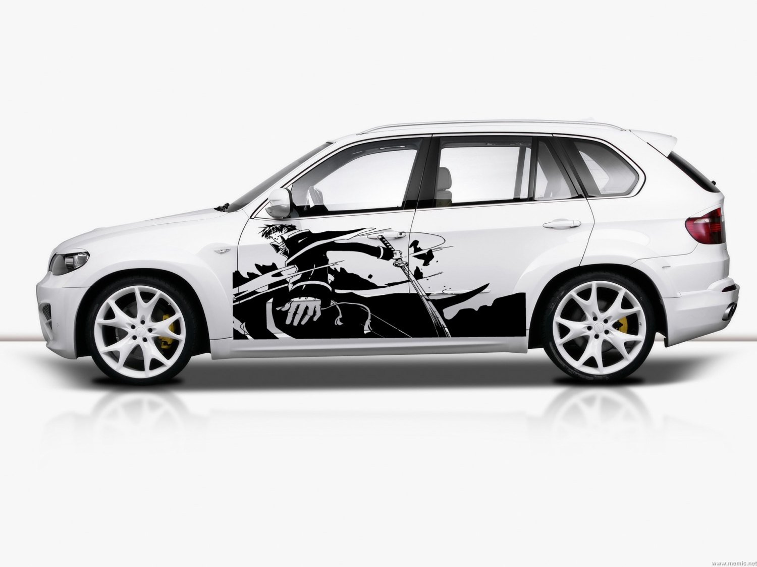 Amazon com anime manga japan cartoon car side vinyl graphics vehicle wrap car side design g6503 home kitchen