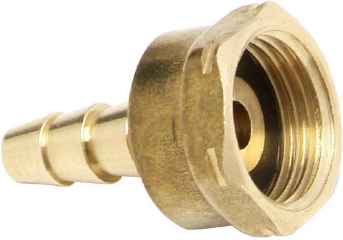 WOLFPACK LINEA PROFESIONAL 5050306 Adaptador Para Regulador Gas Regulable, Hierro Fundido, Dorado