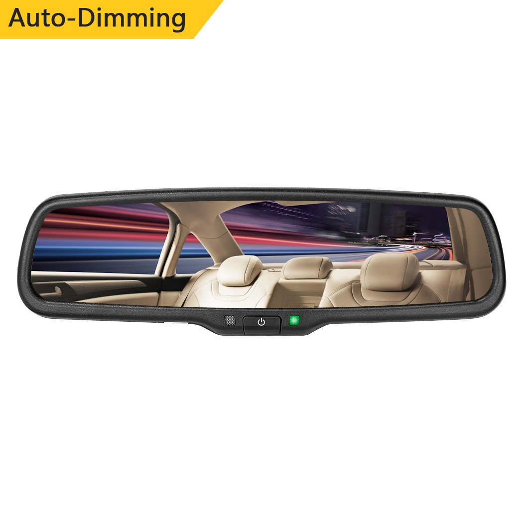 Autowings Auto Dimming Car Interior Rear View Mirror 2015 Gm Wiring Diagram Automotive
