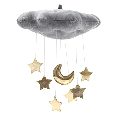 Baby Products Vosarea Cloud and Raindrop Nursery Ceiling Mobile Crib Mobile Photography Prop Kids Room Baby Shower Hanging Decoration Grey