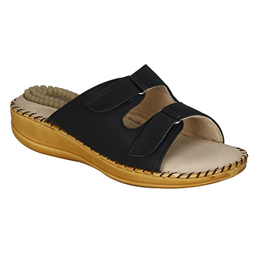 2f567e281 VAGON Misto Women and Girls Doctor Slippers and Ortho Slippers with  Acupressure JEL Padding and Soft