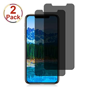 [2-packs]-iphone-xs_x-privacy-screen-protector-loopilops-iphone-xs_x-anti-spy-tempered-glass-screen-protector-[3d-touch]-[9h-hardness]-compatible-with-iphone-xs_x-privacy-[58-inch] by loopilops