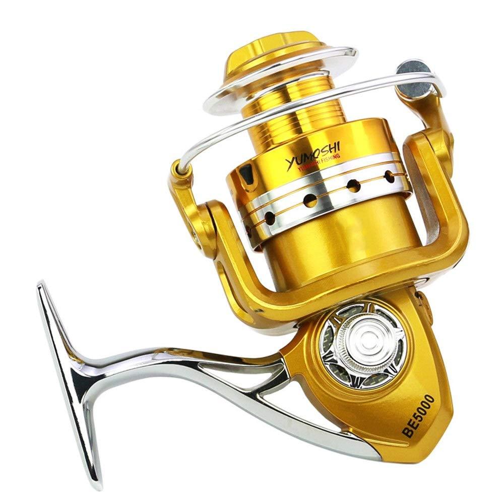 Metal Spinning Fishing Reel Handle Folding Rocking Arm For 1000-7000 Wooden Kn X