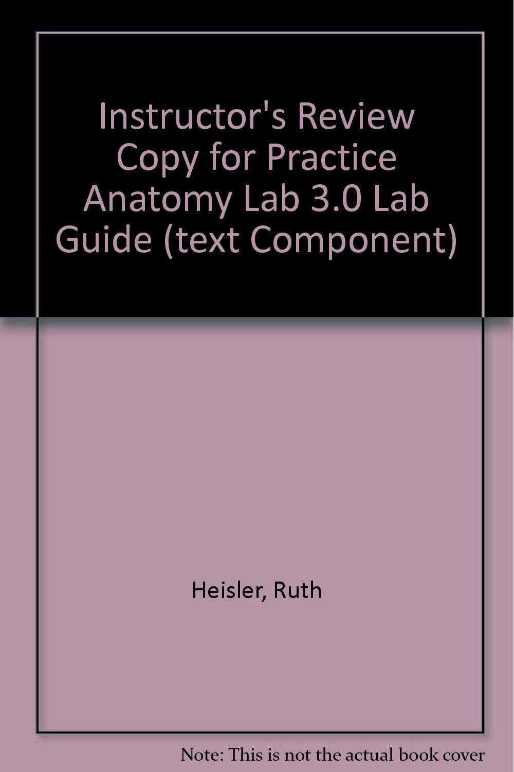 Instructor\'s Review Copy for Practice Anatomy Lab 3.0 Lab Guide ...