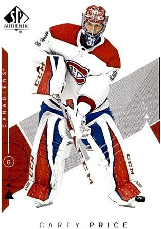 Amazon Com 2018 19 Sp 75 Carey Price Montreal Canadiens Hockey Card Collectibles Fine Art