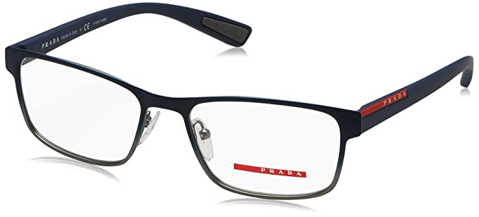 f6391fa96161 Prada Linea Rossa Men s PS 50GV Eyeglasses 53mm at Amazon Men s ...