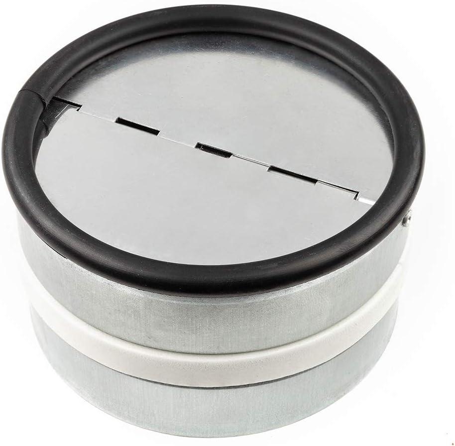 neverest RKI 100 mm - Válvula Antirretorno Reduce el Ruido y Evita el Aire Frío por Tubo de Ventilación