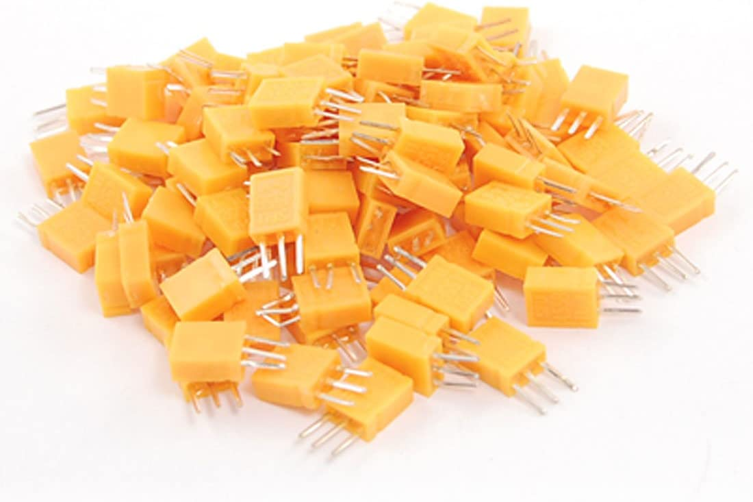 Aexit 100Pcs DIP Radio Frequency Filters Mounting Type SFU455B 460KHz Ceramic Filter for Band Pass Filters FM Receiver