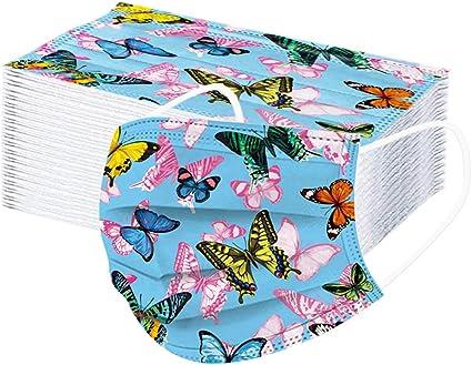 FRKZ 50PC Adulte Papillon imprim/é