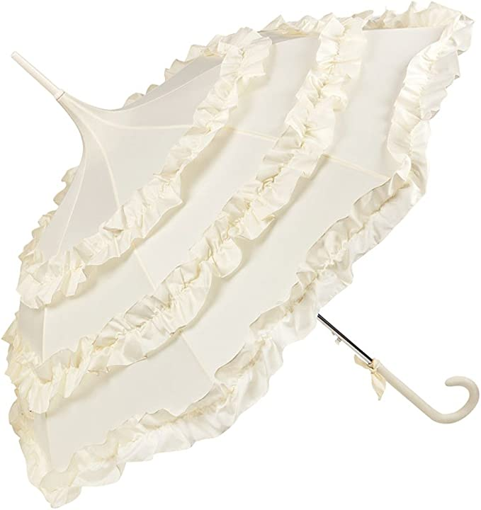 Regenschirm Damen Mode Sonnenschirm Brautschirm Hochzeitsschirm Melissa Spitze