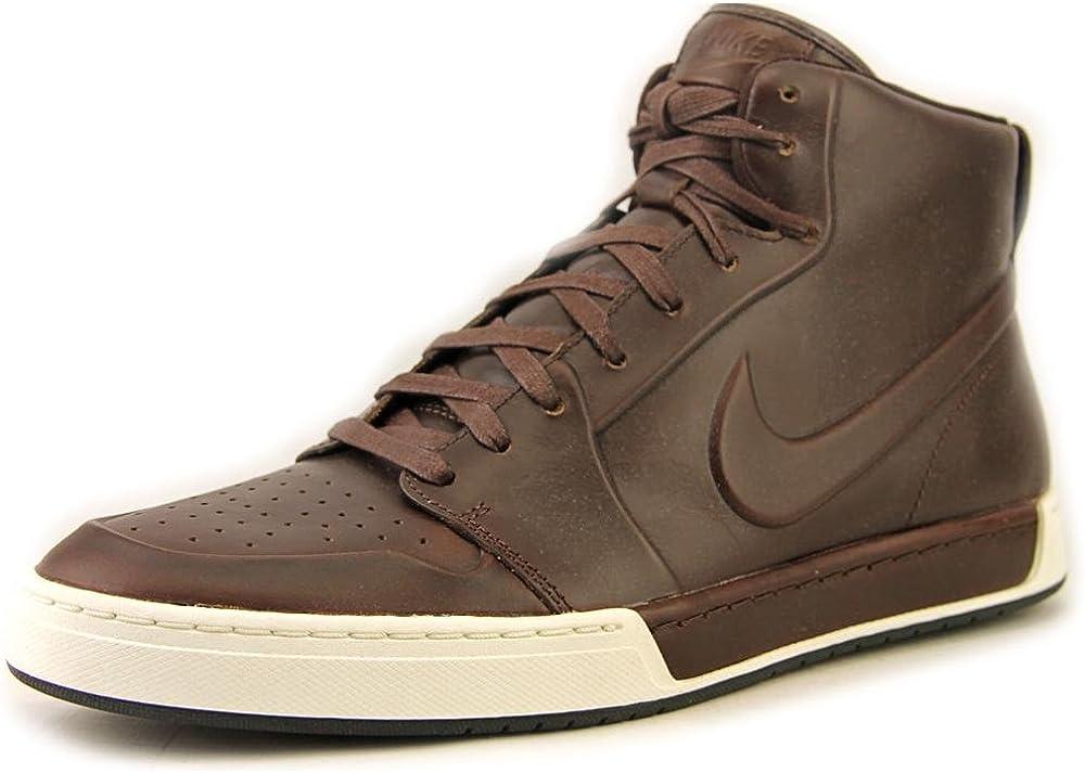 Formación dramático sal  Nike Air Royal Mid VT Men US 7 Brown Athletic Sneakers: Amazon.co.uk: Shoes  & Bags