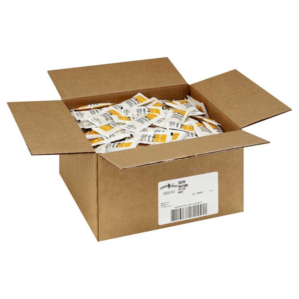 Americana Mustard, 5.5 Gram - 500 Case
