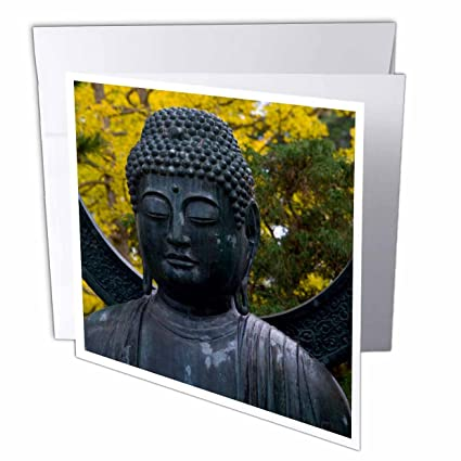Amazon 3drose buddha japanese gardens san francisco 3drose buddha japanese gardens san francisco california greeting cards 6quot x 6quot m4hsunfo