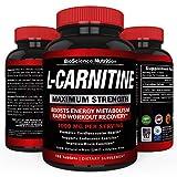 L-Carnitine 1000mg 120 Capsules - Tartrate Carnitine Amino Acid - BioScience Nutrition USA