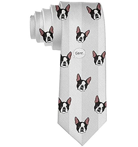 Lazo divertido de la moda de la corbata de la cabeza de perro de ...