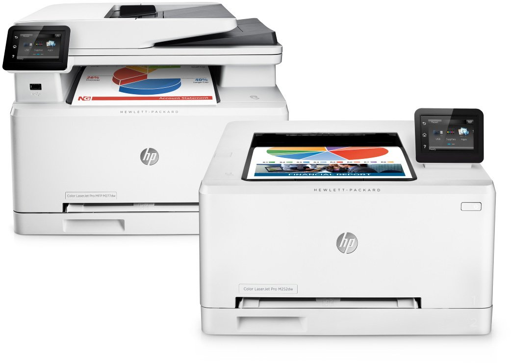 HP LaserJet Pro M252dw Farblaserdrucker weiß: Amazon.de: Computer ...