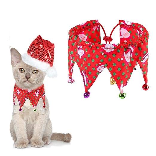 Collar De Perro con Campanas, Bufanda De Navidad para Mascotas ...