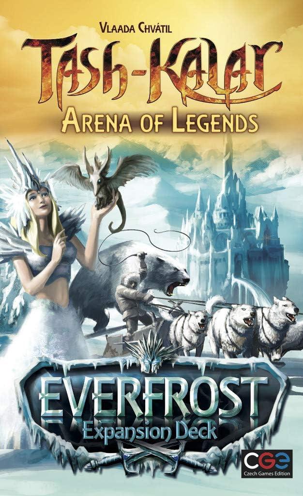 Czech Games Tash-Kalar: Arena of Legends - Everfrost Expansion Deck