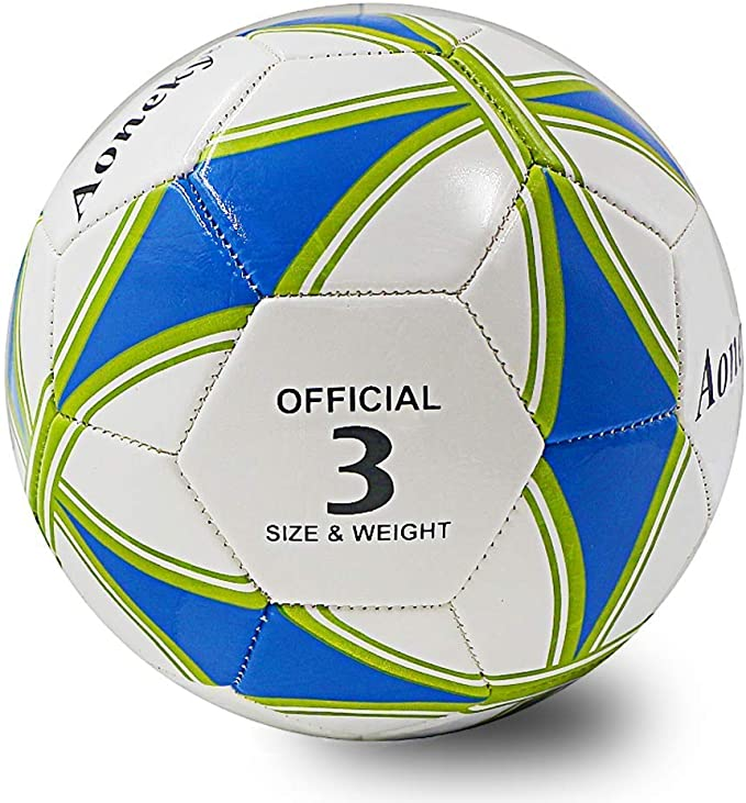 Aoneky Balón de Fútbol para Niños - Talla 3 Diámetro 18 cm, Balón ...