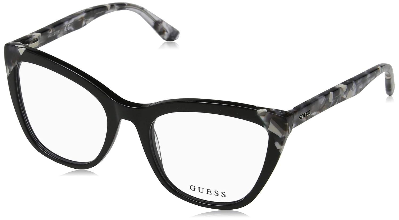 GUESS EYEWEAR メンズ US サイズ: 53/19/140 カラー: ブラック   B07DP59V1D