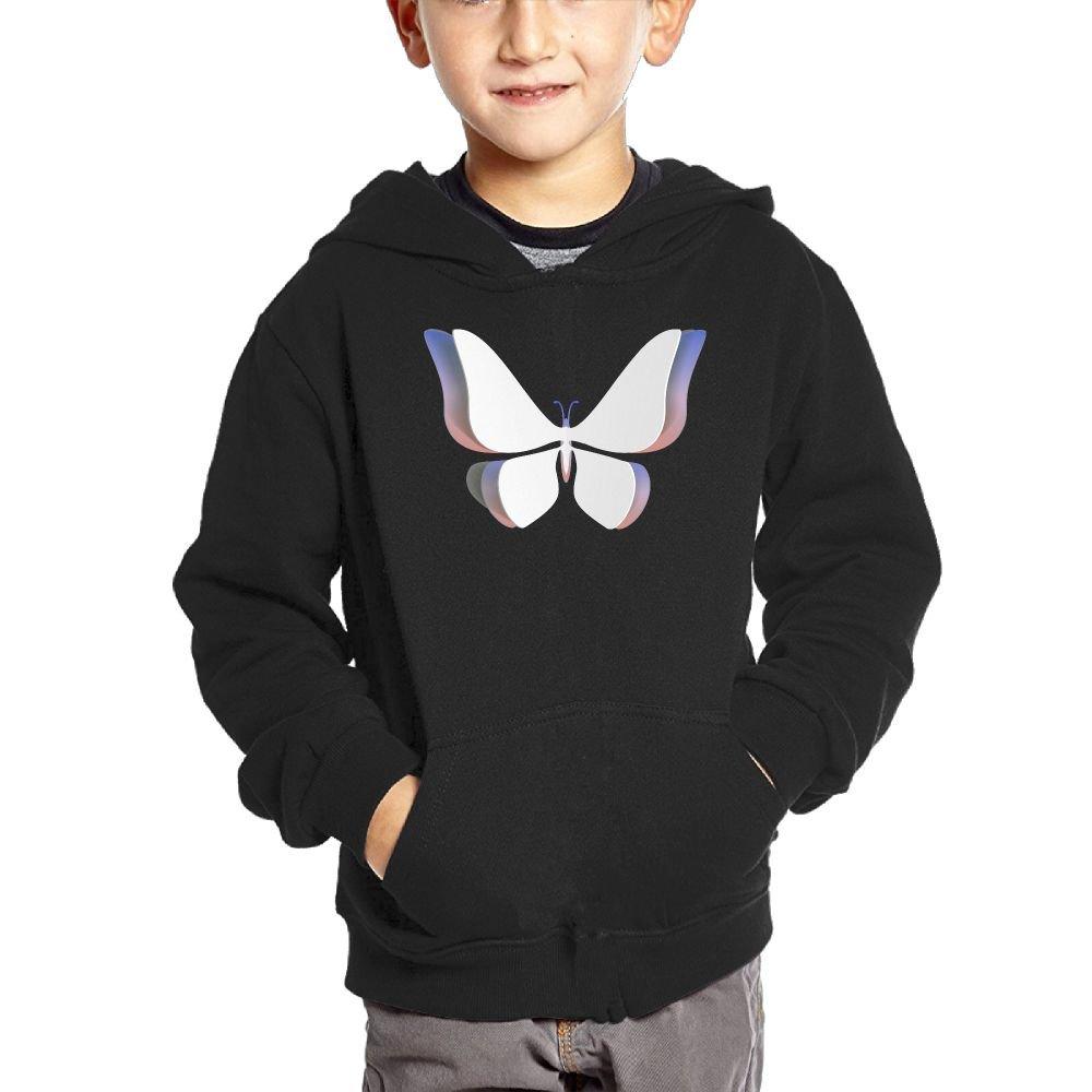 Small Hoodie Origami Boys Casual Soft Comfortable Sweatshirts Kangaroo Pocket Hoodies
