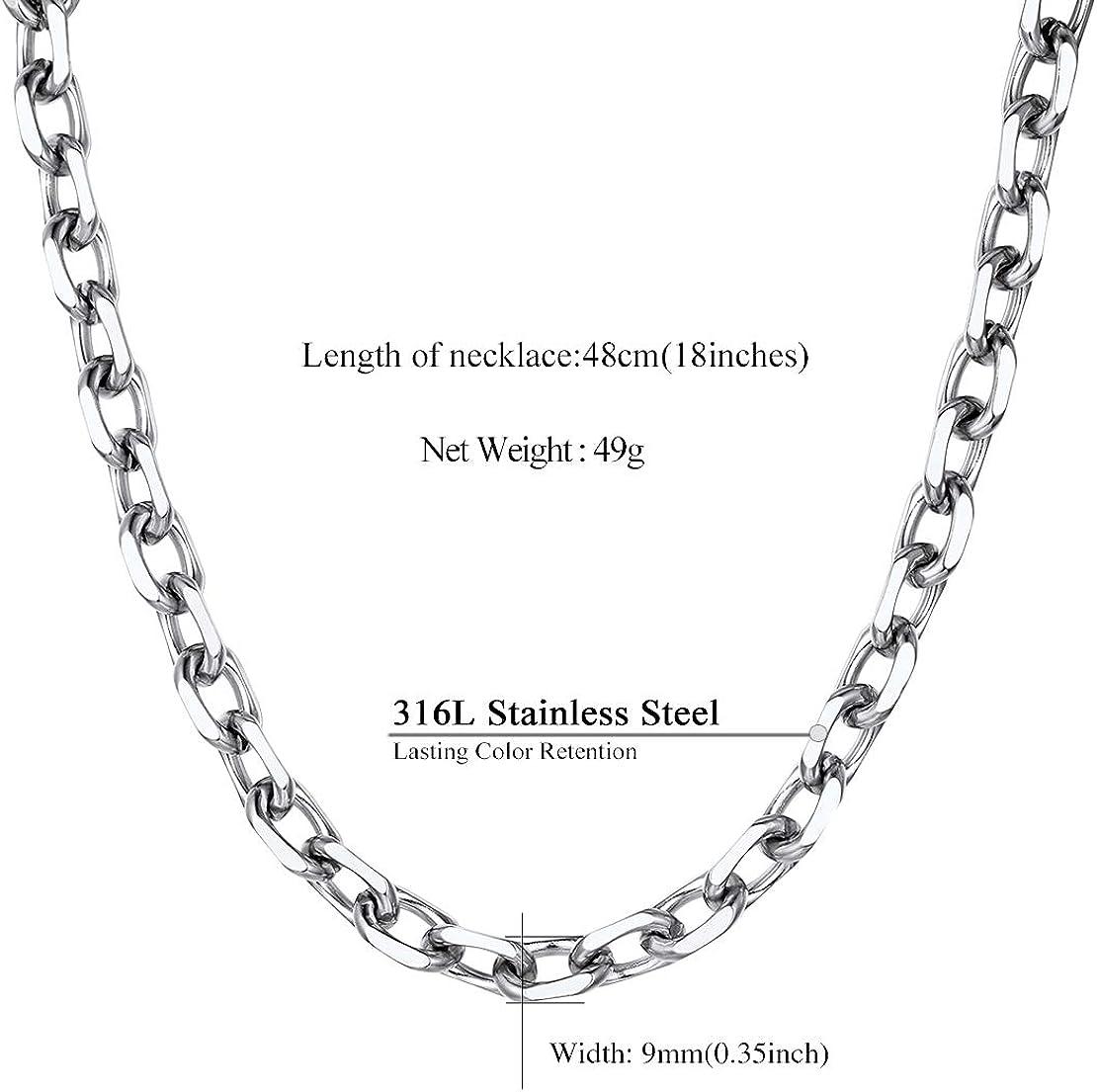 Findings Chain Pendant Chain Charm Chain 18inch Chain 5-18 inch Chains Petite Oval Link Cable Chains Oval Link Chains