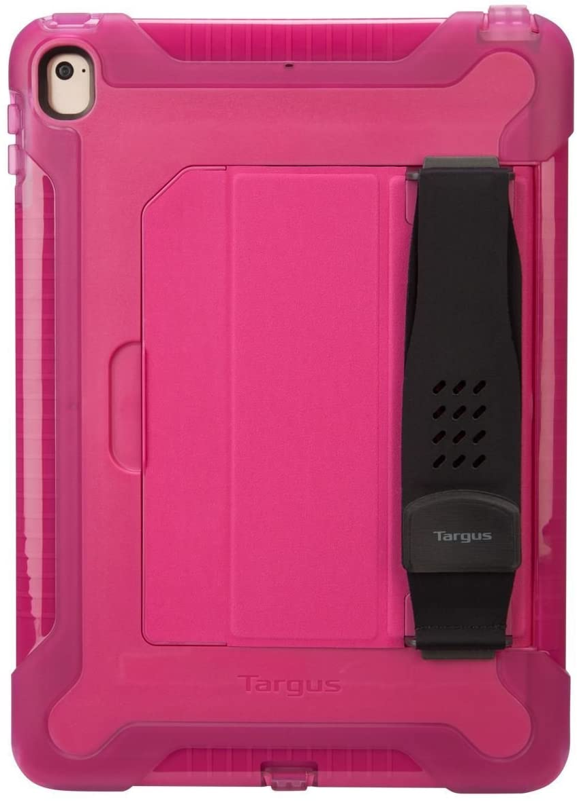 Targus SafePort Rugged Case for iPad (2018/2017), 9.7-Inch iPad Pro & iPad Air 2, Pink (THD20013GL)