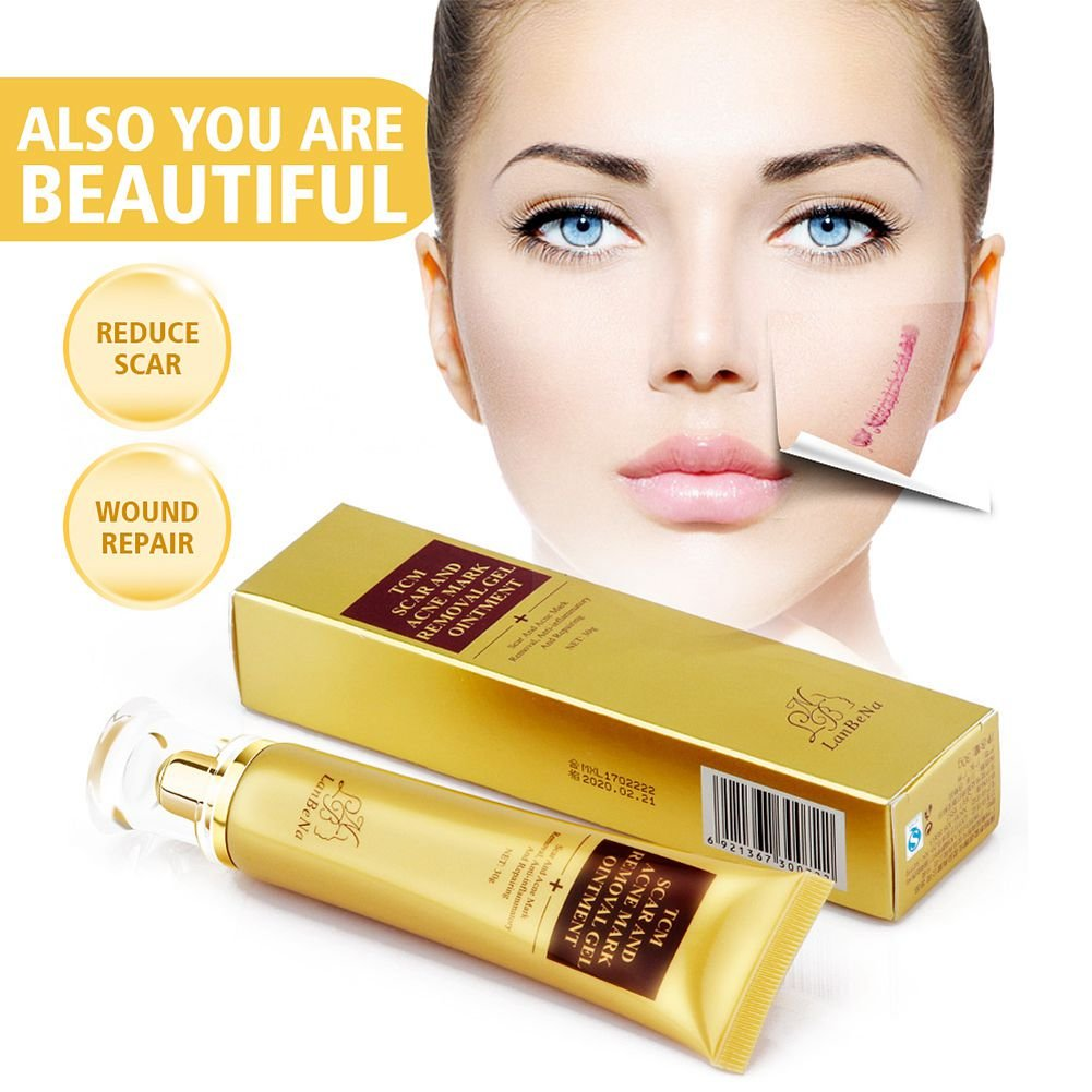 TCM SCAR AND ACNE MARK REMOVAL GEL OINTATION ACNE Scar Cream: Amazon.es: Belleza