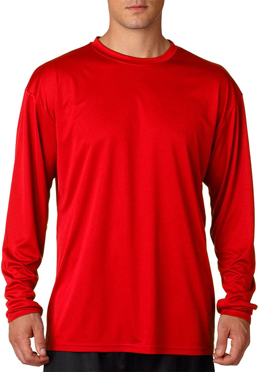 A4 Men's Cooling Moisture Wicking Odor Resistant T-Shirt