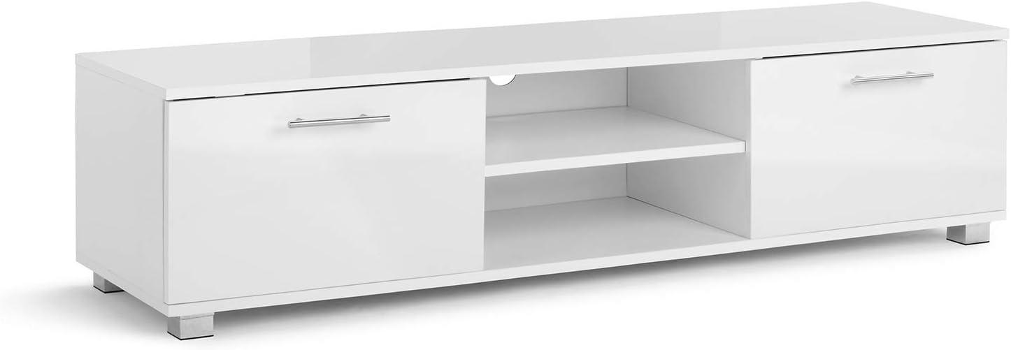 Mueble para TV de 120 cm de Ancho para 32 40 42 49 55 Pulgadas con ...