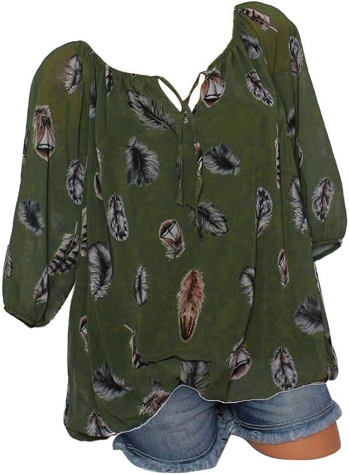 56 NEU Damen Oberteil Tunika Shirt Bluse Hemd kurzarm dunkelblau Größe