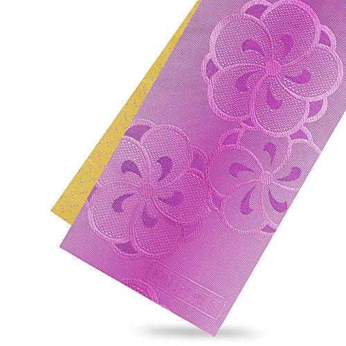 従順先見の明マウンドPATTiPATTi 小袋半巾帯 浴衣帯 グラデーション ねじり梅 紫