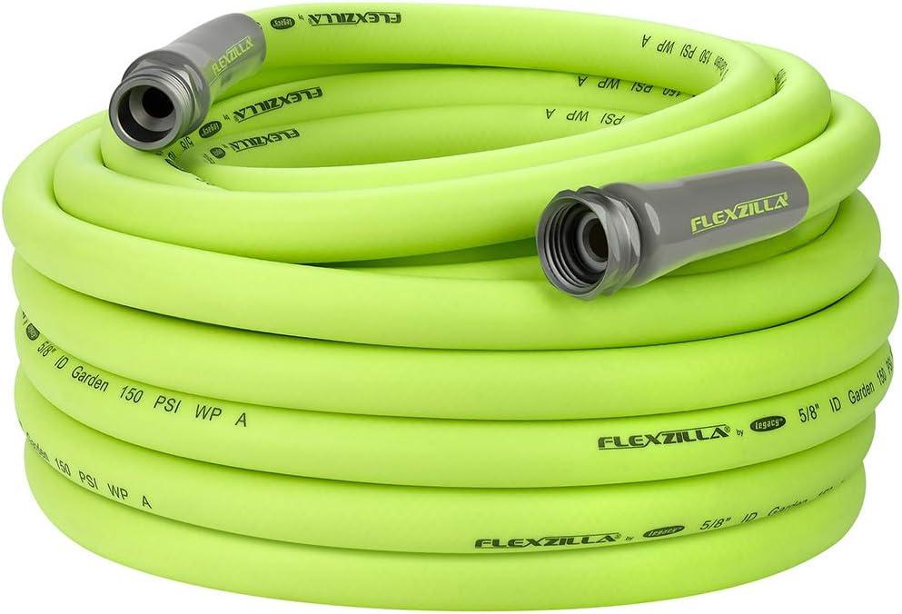 Flexzilla Garden Hose, 5/8 in. x 75 ft., Heavy Duty, Lightweight, Drinking Water Safe - HFZG575YW : Garden & Outdoor