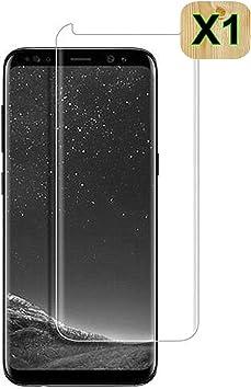 Haikingmoon Cristal Templado Samsung S8 Plus,Fácil de Instalar ...