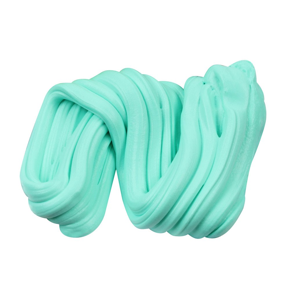Sky Blue Starwak Amazing Fluffy Slime,Fluffy Floam Slime Putty Scented Stress Relief No Borax Kids Toy Sludge Toy