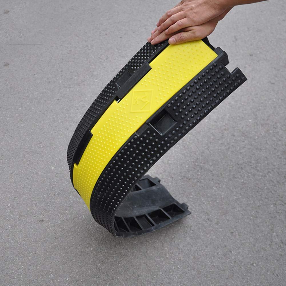/Überlaufplatte Hochwertiger Naturkautschuk Gummikabelwanne Gute Antirolleigenschaften Speed Bump