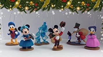 amazoncom mickeys christmas carol ornament set everything else - Mickeys Christmas Carol