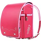 【Coulomb・クーロン・技術型】2018年度デザイン女の子向けランドセル 人気 school bag 6年品質保証付き