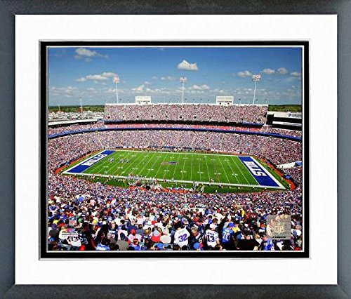 "Buffalo Bills Ralph Wilson Stadium Photo (Size: 12.5"" x 15.5"") Framed"