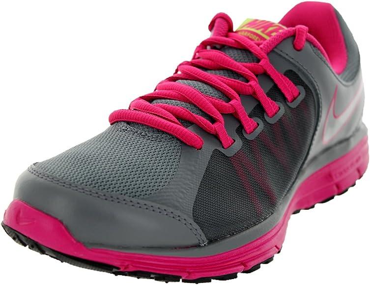 Nike Lunar Forever 3 Zapatillas de running de la mujer, Gris (Cl Gry/Mtllc Slvr/Vlt Ic/Vvd P), 10 B(M) US: Amazon.es: Zapatos y complementos