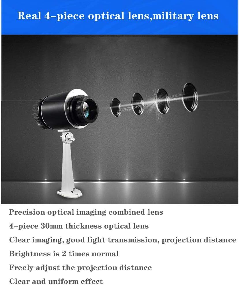 25 W Proyección de Logotipo LED del GOBO con Zoom Manual DJ ...