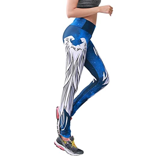Schnäppchen 2017 klassische Stile baby YOUBan Damen Leggings Sexy Hosen Sport Yogahose Drucken ...