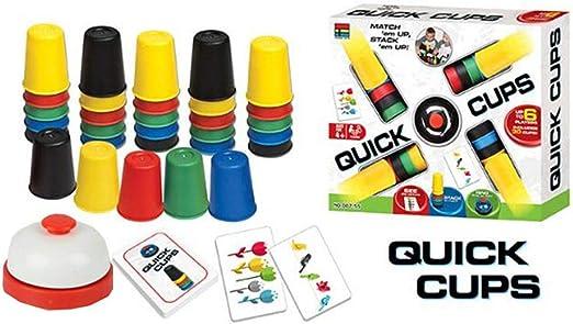 Juegos De Cartas Quick Cup Tazas Rápidas para Juegos De Mesa Al ...