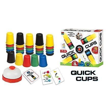 Juegos De Cartas Quick Cup Tazas Rápidas para Juegos De Mesa ...