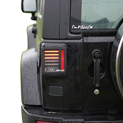 Jeep Wrangler Led Tail Lights >> Amazon Com Safaripal Led Tail Lights For Jeep Wrangler Jk Brake